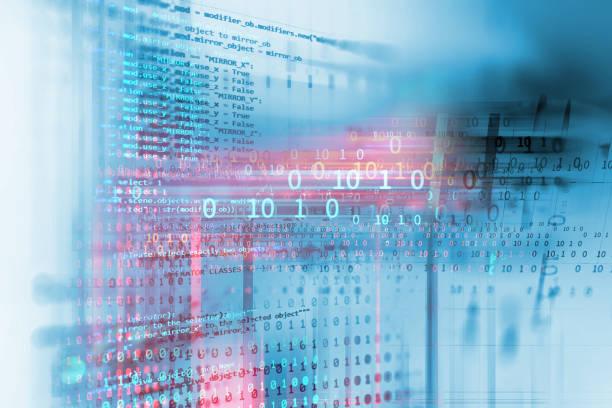 Programmierung Code abstrakte Technik Hintergrund der Software-Entwickler und Computer-Skript – Foto