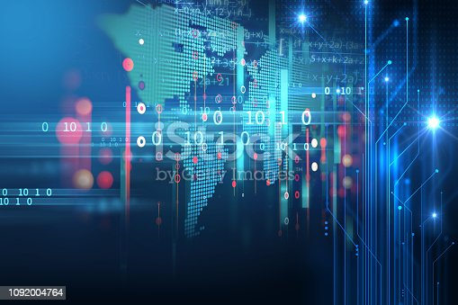 istock Programming code abstract technology background of software developer and  Computer script 1092004764