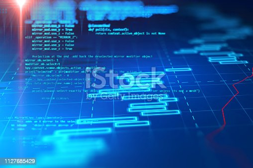 537331500istockphoto Programming code abstract technology background of software developer and  Computer script 1127685429