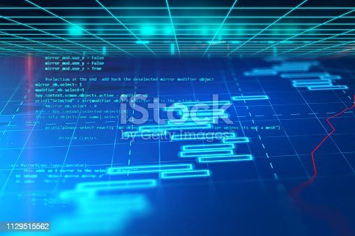 istock Programming code abstract technology background of software developer and  Computer script 1129515562