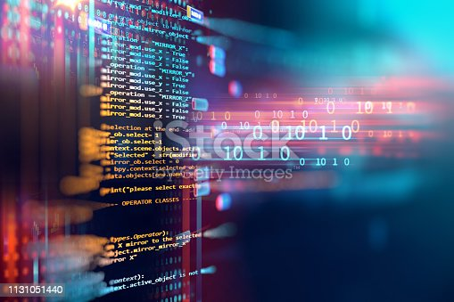 537331536 istock photo Programming code abstract technology background of software developer and  Computer script 1131051440