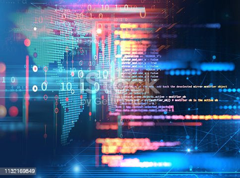1026914886 istock photo Programming code abstract technology background of software developer and  Computer script 1132169849