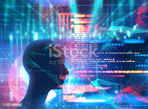 istock Programming code abstract technology background of software developer and  Computer script 1132169894