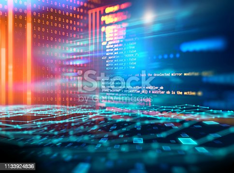 1026914886 istock photo Programming code abstract technology background of software developer and  Computer script 1133924836