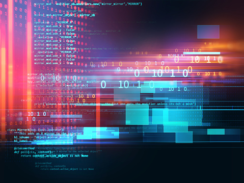 Programming Code Abstract Technology Background Of Software