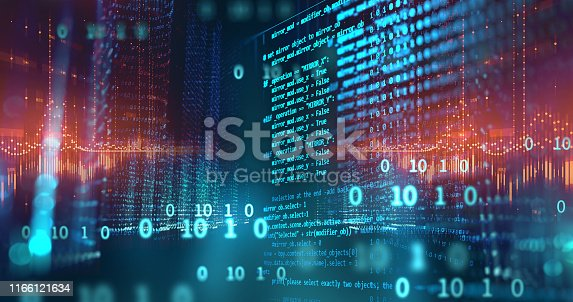 585174266 istock photo Programming code abstract technology background of software developer and  Computer script 1166121634