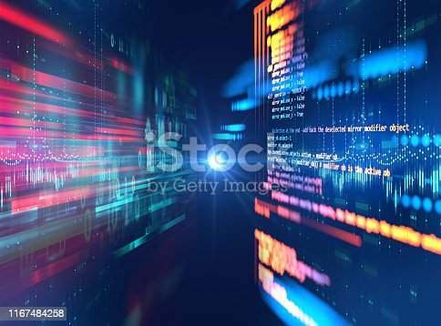 537331536 istock photo Programming code abstract technology background of software developer and  Computer script 1167484258