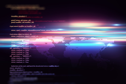 944923496 istock photo Programming code abstract technology background of software developer and  Computer script 1204335744