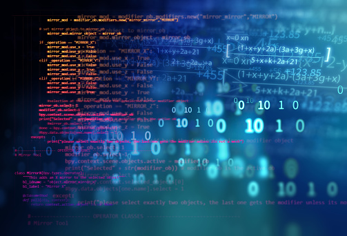 944923496 istock photo Programming code abstract technology background of software developer and  Computer script 1207407069