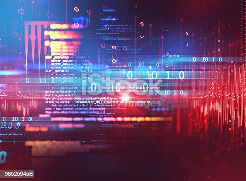 585174266 istock photo Programming code abstract technology background of software developer and  Computer script 965259458