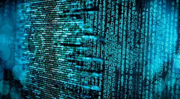 programming code and matrix - algorithm stock pictures, royalty-free photos & images