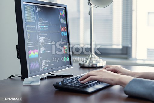 861122560 istock photo Programming language concept. System engineering. Software development. 1154268654