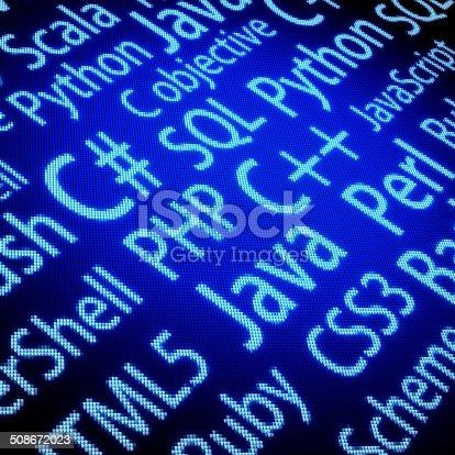 istock Programming Languages 508672023