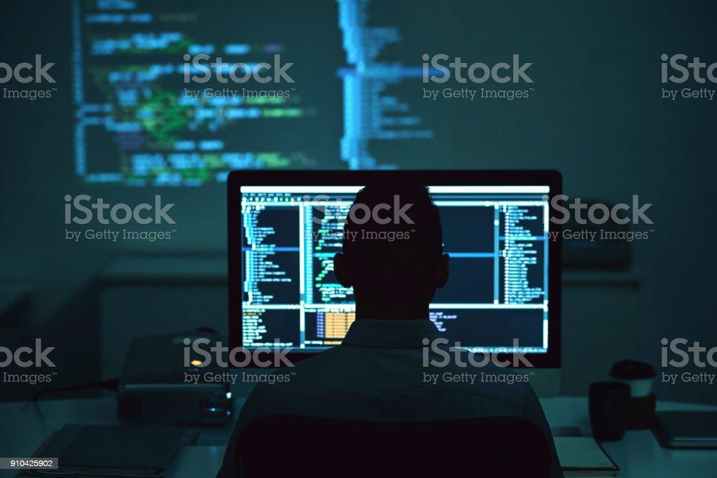 Programmierung Mann – Foto