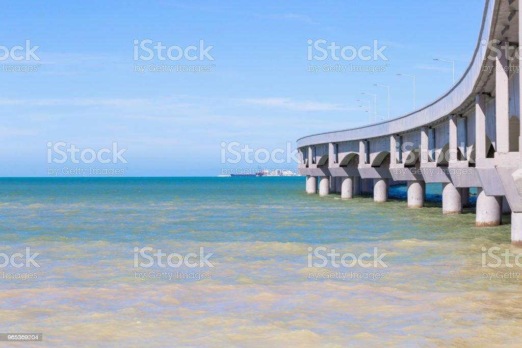 Progreso Pier zbiór zdjęć royalty-free