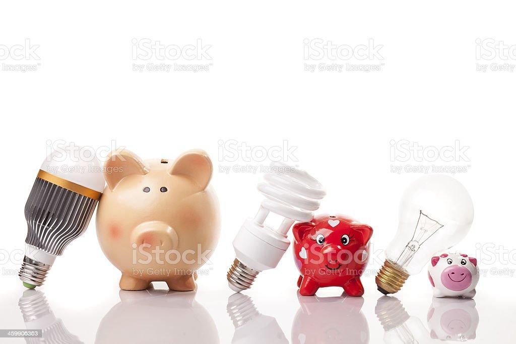 progress and savings royalty-free stock photo
