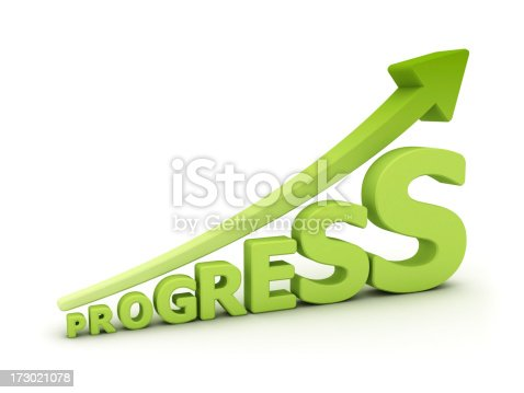istock progress graph 173021078