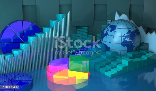 istock Progress in global,business abstract background. 510002492