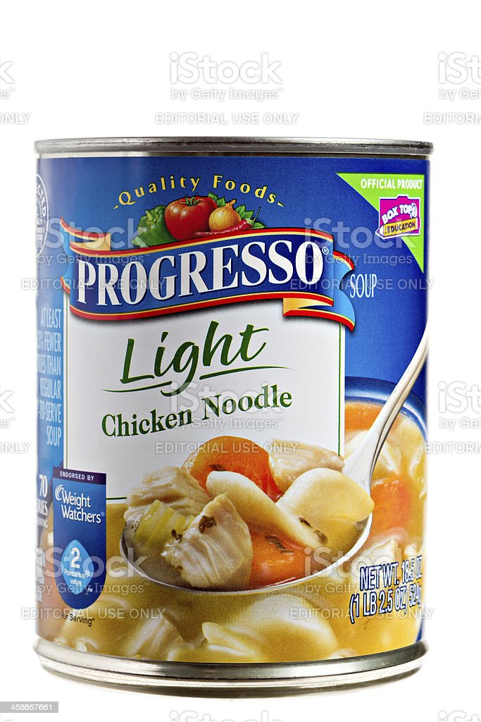 Superb Progresso Light Chicken Noodle Soup Royalty Free Stock Photo Great Pictures