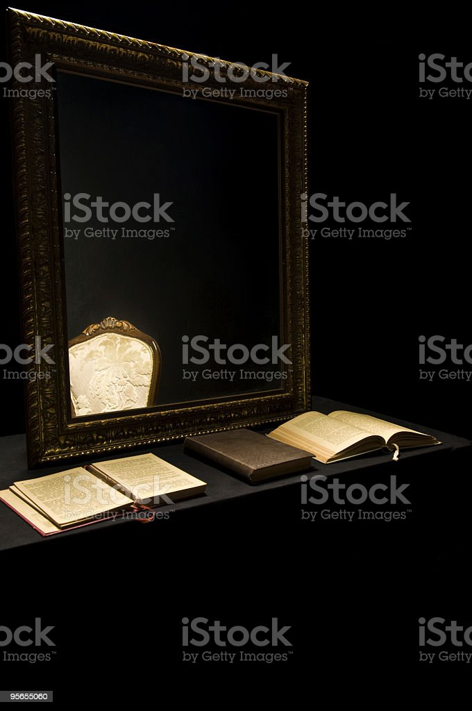 Prohibition Zimmer - Lizenzfrei Buch Stock-Foto