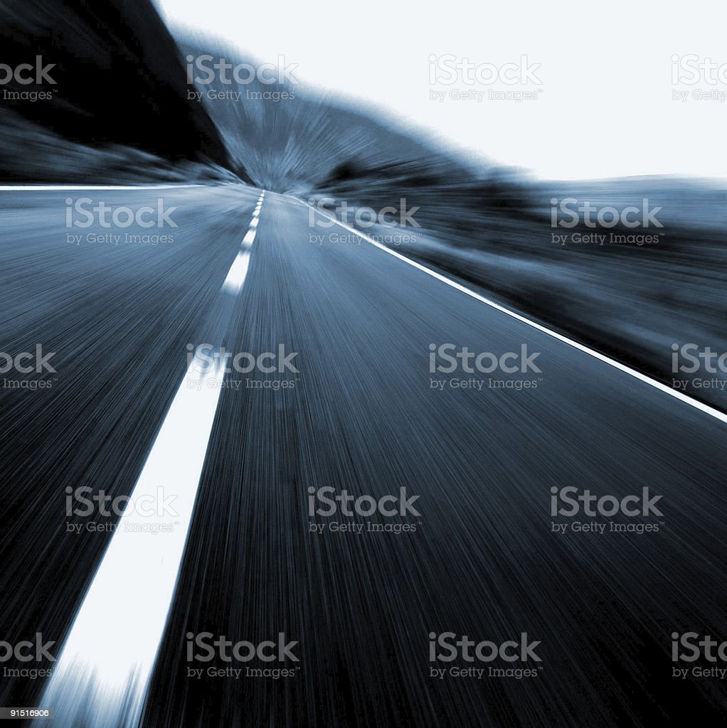 Project ahead stock photo