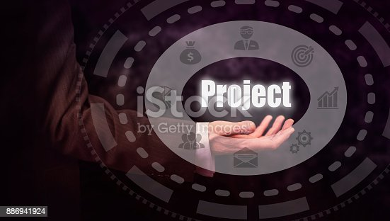 istock Project Concept 886941924