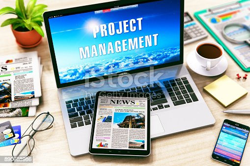 1024730528 istock photo Project management concept 890668986