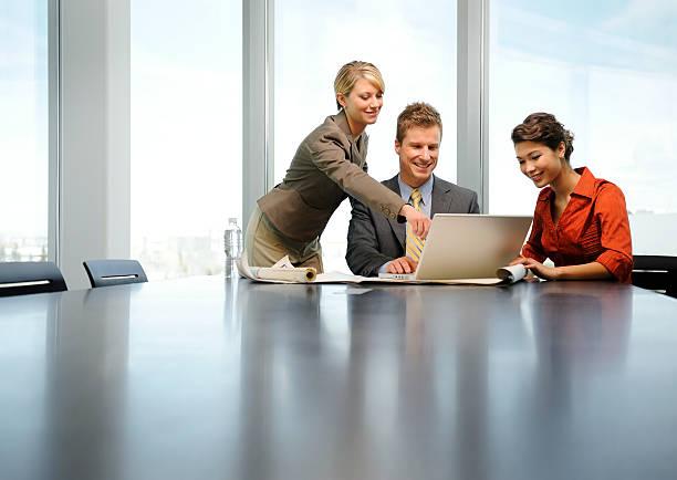 project management meeting - projektledning bildbanksfoton och bilder
