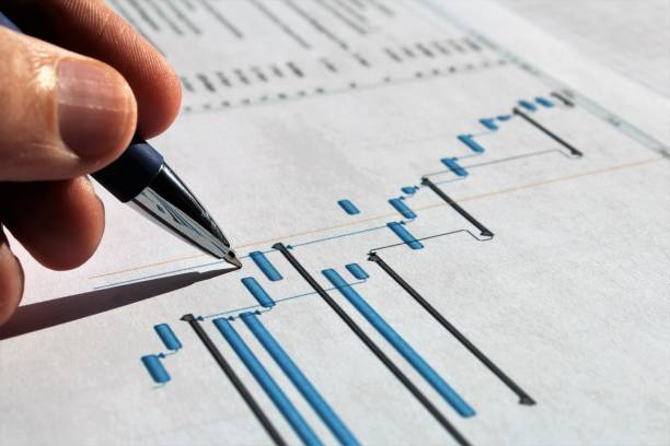 projekt-management. - projektmanager stock-fotos und bilder