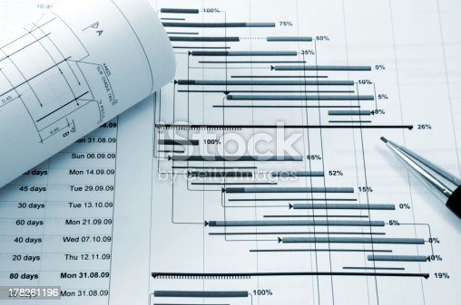 614338352 istock photo Project management 178261196
