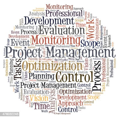 istock Project Management word cloud 476032245