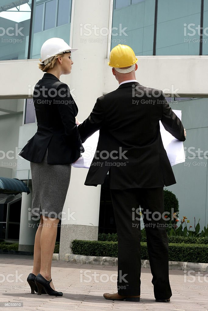 Project managers royalty-free stock photo