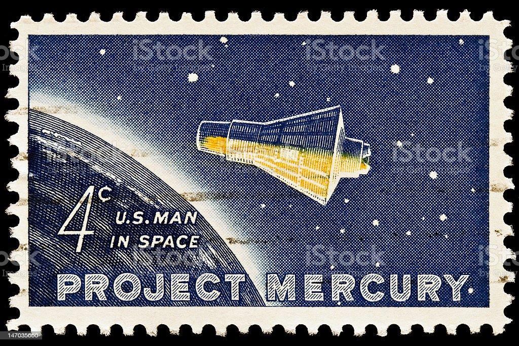 Project Mercury Issue stock photo