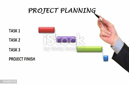 614338352 istock photo Project planning 184062240