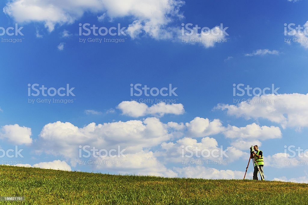 Project preperation royalty-free stock photo