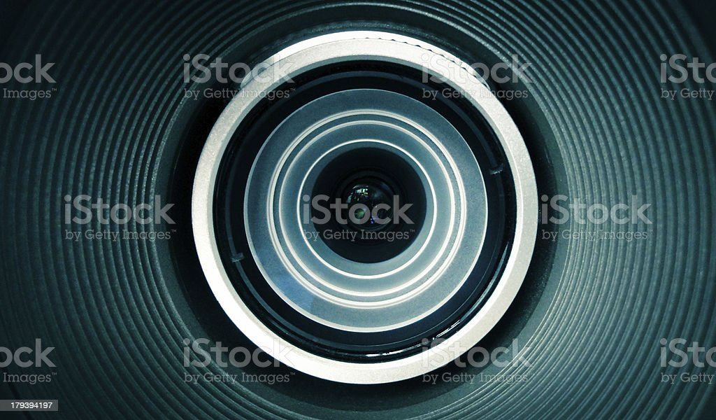 Projection Lens royalty-free stock photo