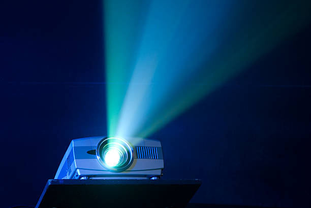 projector - projection equipment stock pictures, royalty-free photos & images