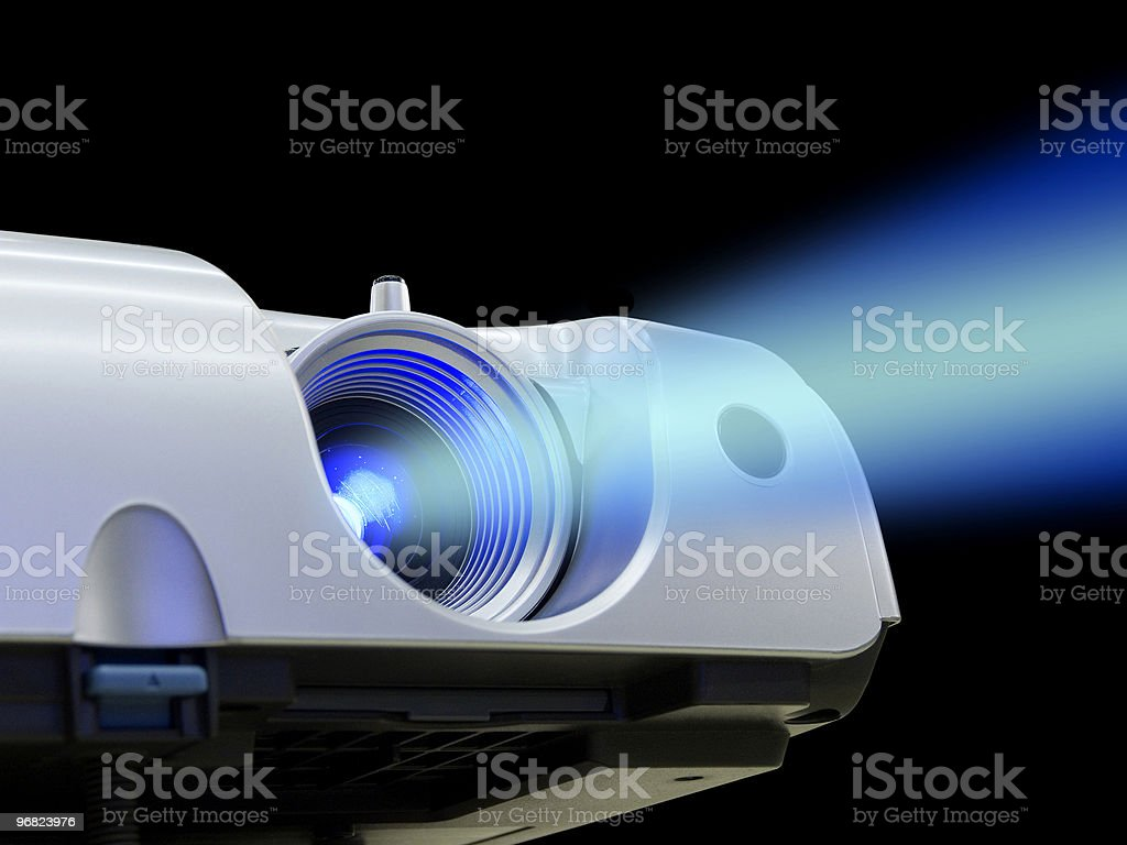 Projector stock photo