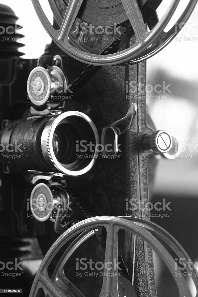 projector side royalty-free stock photo
