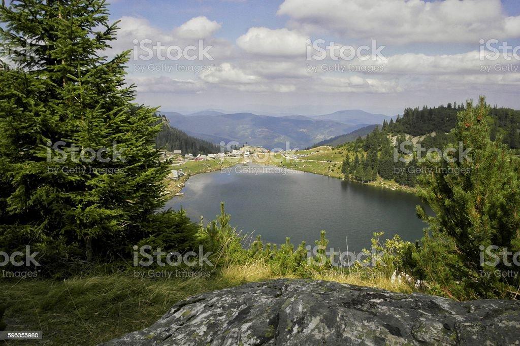 Prokosko lake royalty-free stock photo