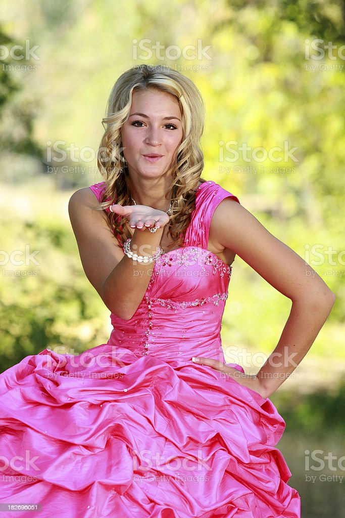 Prom Beauty Series royalty-free stock photo