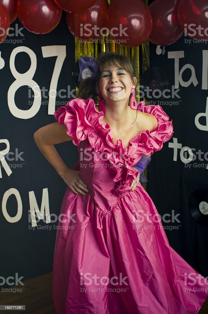 Prom Queen royalty-free stock photo