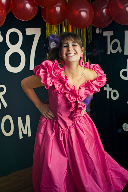 prom queen - prom stock photos and pictures