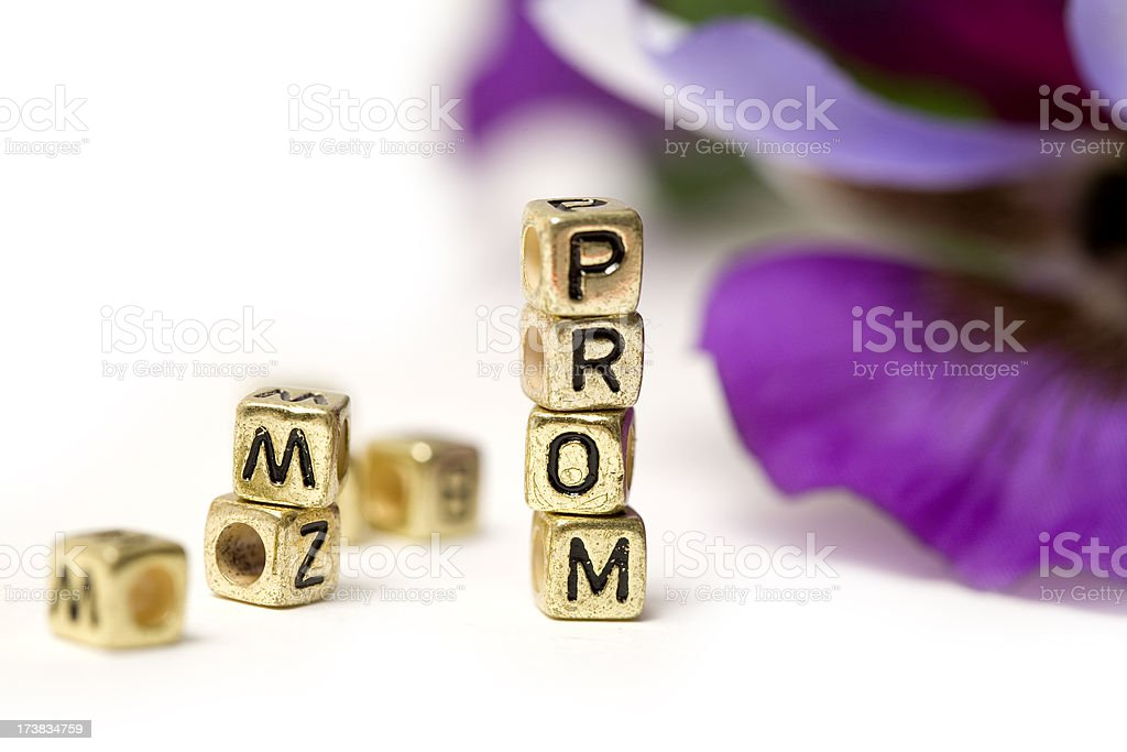 Prom Time royalty-free stock photo