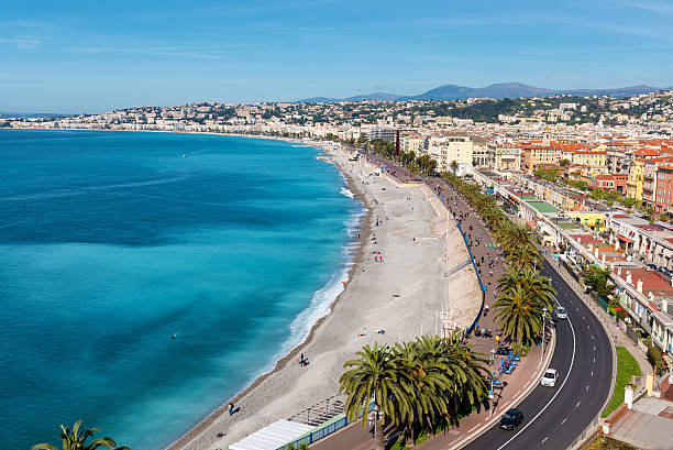 royalty free promenade des anglais pictures images and stock photos istock. Black Bedroom Furniture Sets. Home Design Ideas