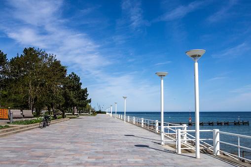 Promenade of Travemuende