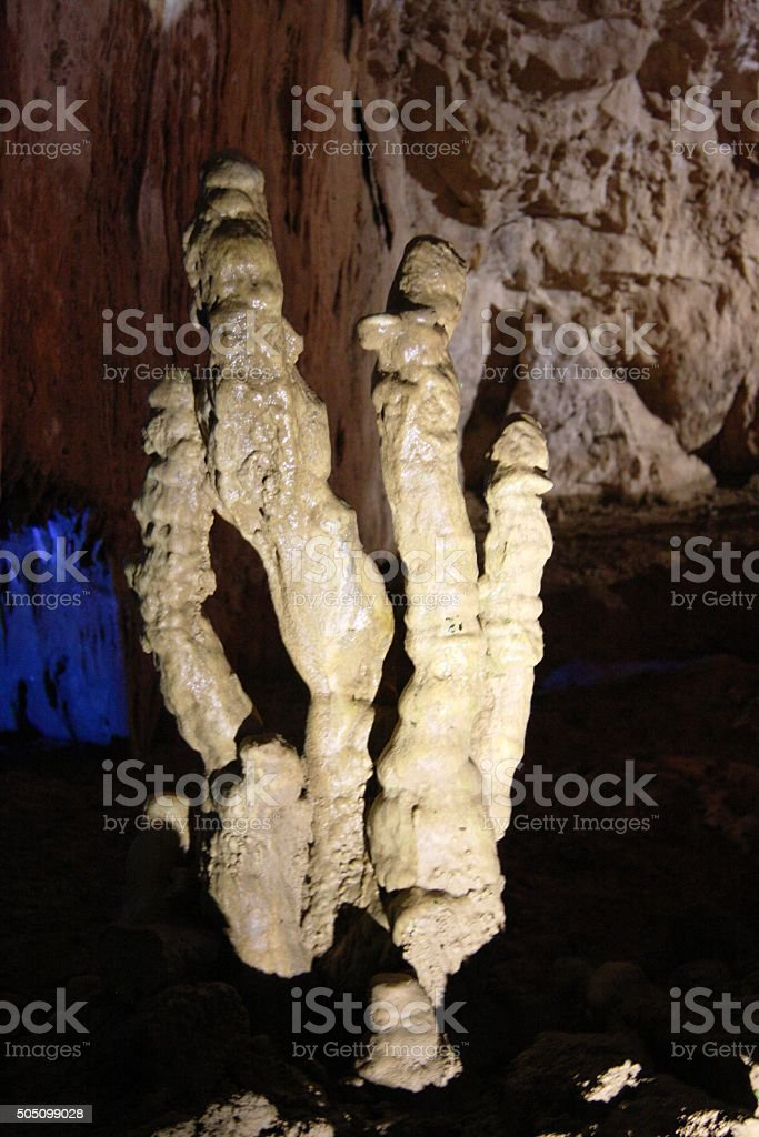 Prometheus cave stock photo