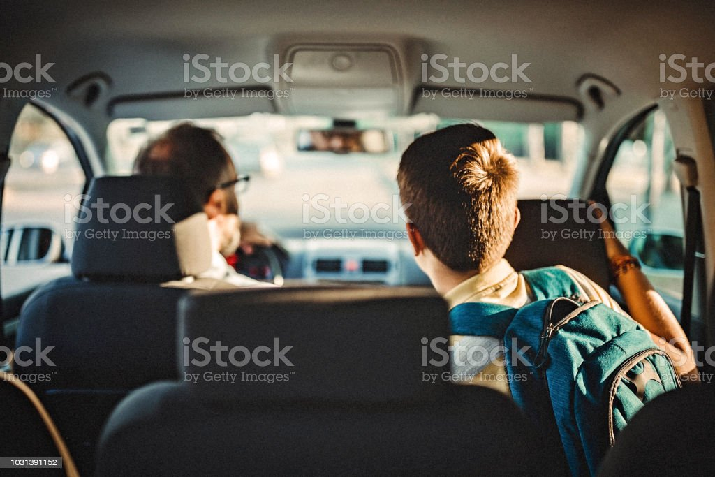 Promise me you'll be good stock photo