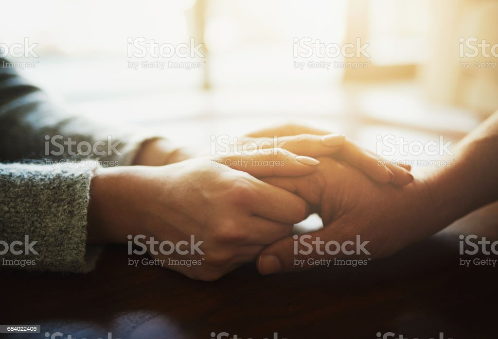 I promise to be there for you whenever you need stock photo