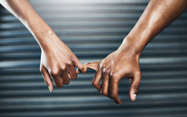 promise we'll work hard at it - pinky promise stock photos and pictures